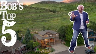 Stunning Home For Sale at  472 Wyoming Circle Golden, CO | Backing North Table Mesa Open Space