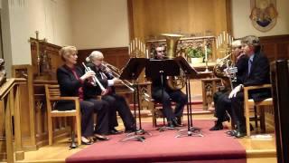Golden Gate Brass - Canzona Bergamasca - Samuel Scheidt