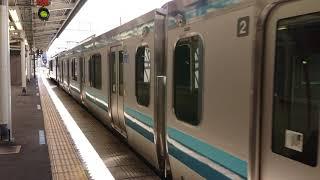 E131系500番台新車配給 EF64 1032+E131 G-04 高崎駅着発 【4K】