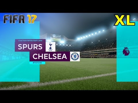 FIFA 17 - Tottenham Hotspur vs. Chelsea @ White Hart Lane (XL Match)