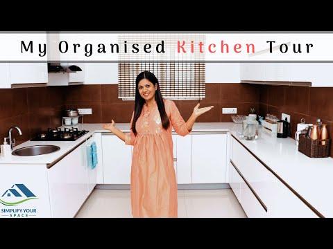 Kitchen Organization Ideas | New Kitchen Tour | Simplify Your Space #kitchenorganization