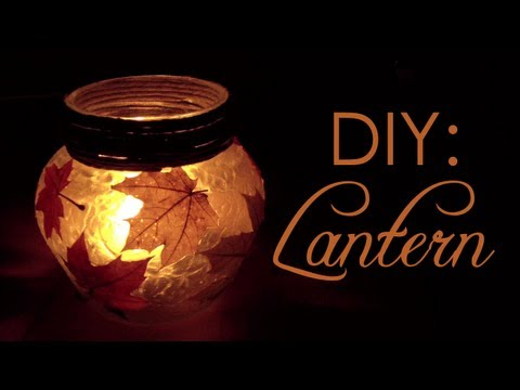 DIY: Autumn Lantern