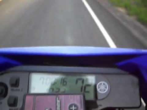 YAMAHA WR250R / WR250X Top Speed 94 MPH FMF Powercore 4 - YouTube