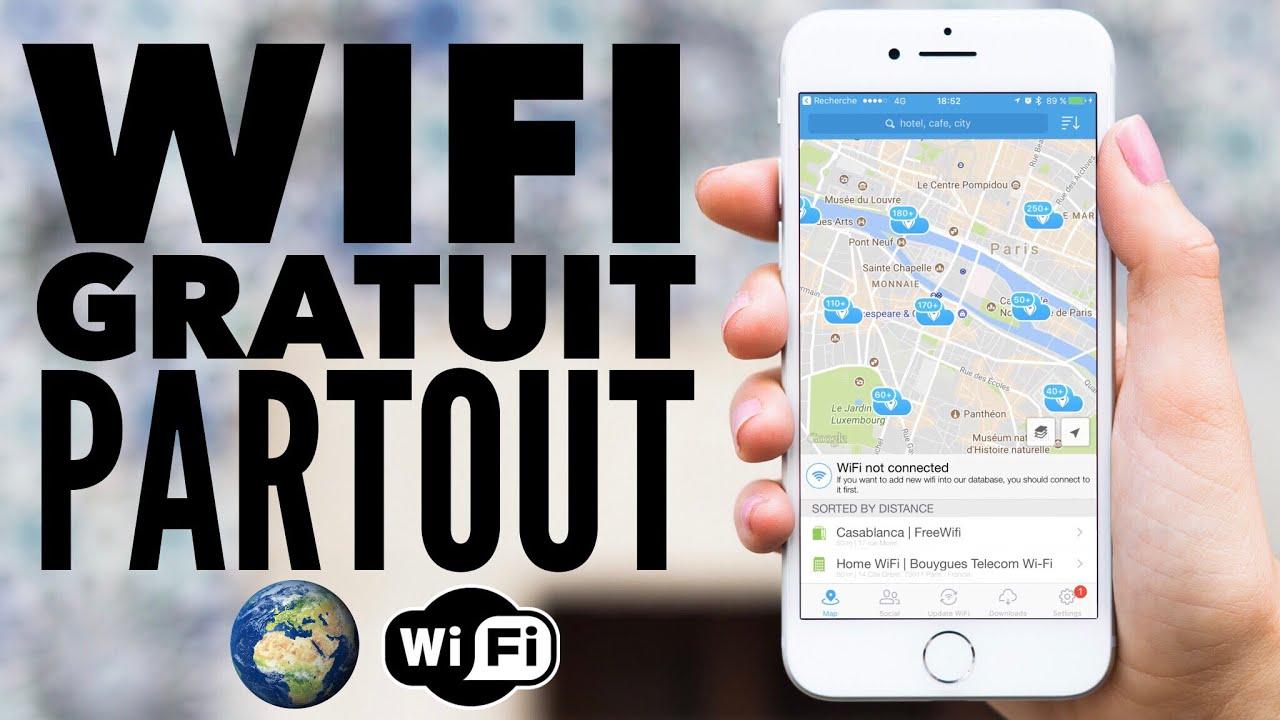 Wifi Gratuit Partout Dans Le Monde Et Sans Forfait Iphone Android Pc Mac Youtube