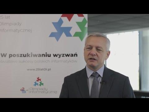Ministerstwo Cyfryzacji wspiera Olimpiady Informatyczne - wywiad z Ministrem Markiem Zagórskim