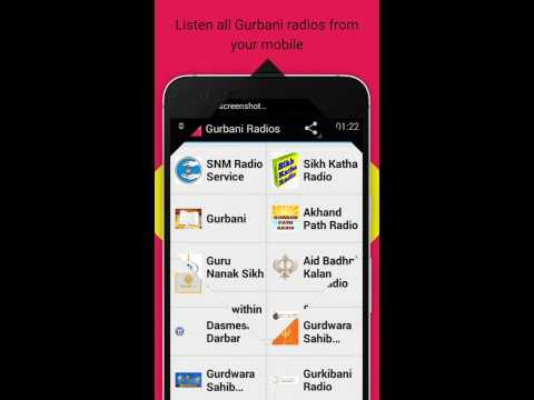 Listen Gurbani radios online from your android app
