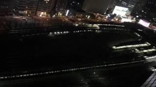 サンライズ出雲と新幹線 品川駅を上から見てみる