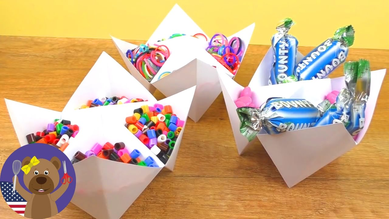 Craft supply storage containers - Cool Diy Storage Container For Craft Supplies Candy Super Easy Craft