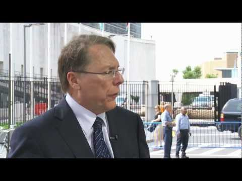 NRA News at the United Nations Arms Trade Treaty Conference - Interview with Wayne LaPierre