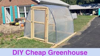 DIY Cheap Greenhouse