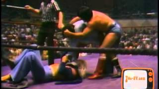 Memphis Wrestling Umatic Masters Series: 1978 Bill Dundee Jimmy Valiant Street Fight Match