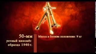 Зброя II світової війни 50 мм ротний міномет зразка 1940 р ☢ Росія