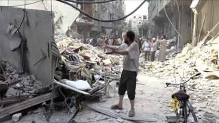 فيديو.. أهالى مخيم اليرموك يشتكون من تفاقم أوضاعهم الإنسانية