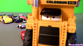 Micro Drifters + Diecast BONUS Lightning McQueen Cars 2 Chick Hicks, Francesco Disney car-toys