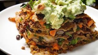 Easy Tortilla Bake | Delicious