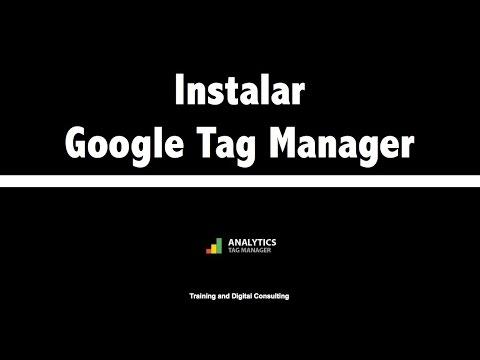 02. Instalación de Google Tag Manager