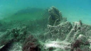В Анапе найден погибший торпедный катер(В Анапе найден погибший советский торпедный катер времен ВОВ. http://anapacity.com/anapa-video/, 2012-10-23T14:38:14.000Z)