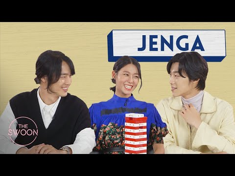 Yang Se-jong, Woo Do-hwan, and Seolhyun play Jenga [ENG SUB]