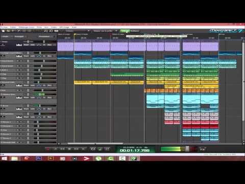 A Professional beat on mixcraft 7