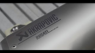 Ducati Performance exhaust systems by Akrapovic