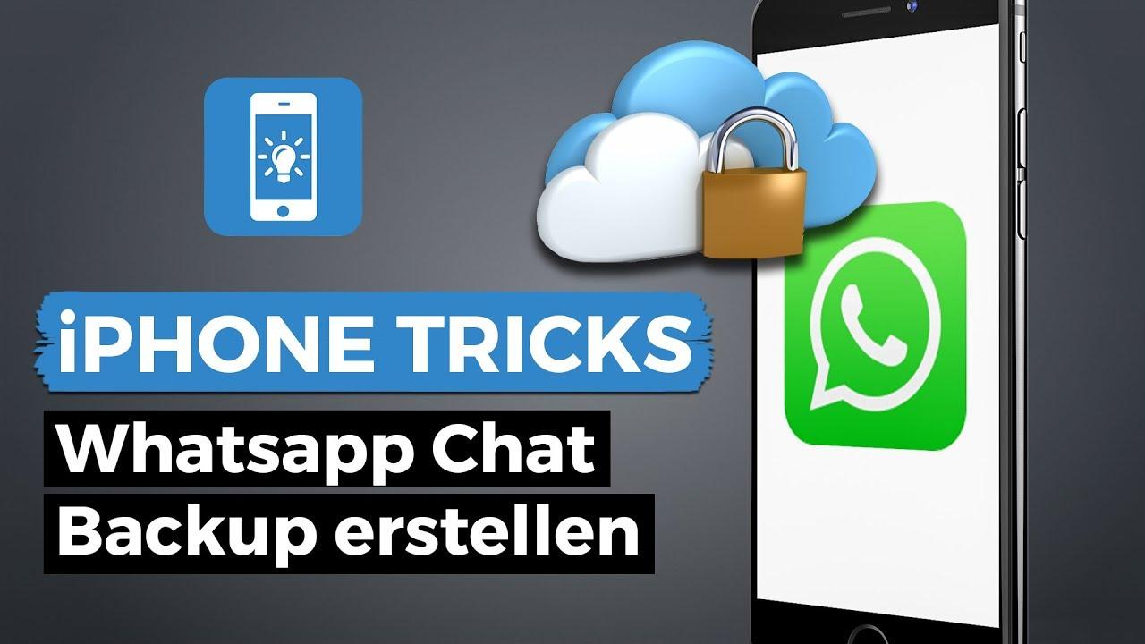 whatsapp backup machen