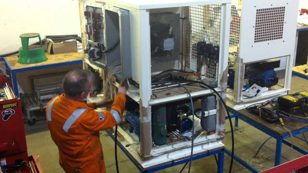 Hvac Amp Refrigeration Engineering Kuwait Chiller