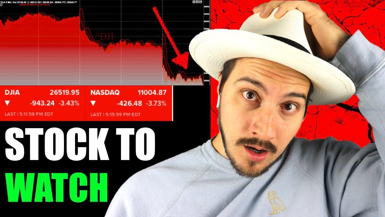 Stock Market Crash Update. It's bad. Stock to Watch Now!