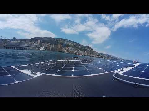 MONACO SOLAR & ELECTRIC BOAT CHALLENGE 2017 - Matchrace Sunderbird vs. DB-20 Racing Team