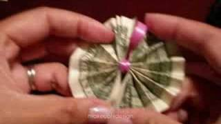 Hawaiian Money Lei Tutorial-dollar Origami