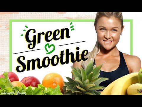 3 GREEN Smothie Rezepte um FIT zu werden | Tipps worauf man achten muss |Fit werden |Sophia Thiel