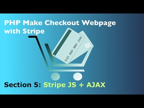How to Use Stripe Webpage Checkout with AJAX and PHP - YouTube