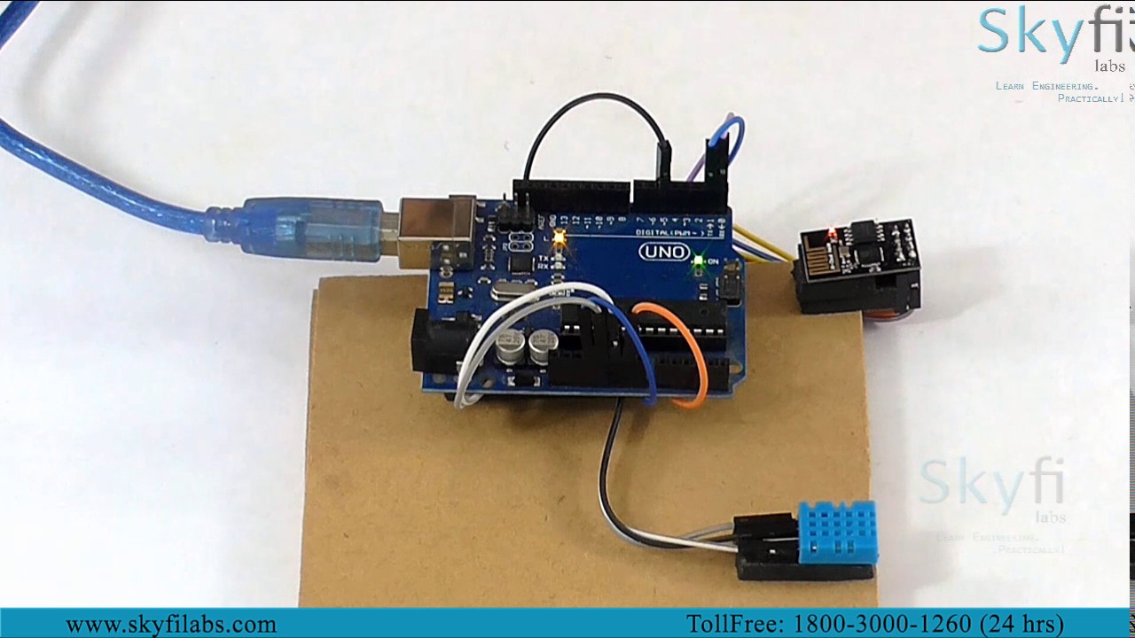 Weather Monitoring System using IoT Project - Skyfi Labs Online ...