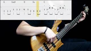 Heather Nova - Walk This World (Bass Cover) (Play Along Tabs In Video)