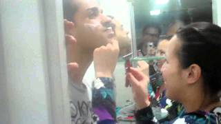 Magic 89 9 Boys Night Out Sam YG Shaves Off His Goatee 1