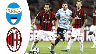 Spal - Milan 2-2 Match Rewiew Highlights & All Goals / СПАЛ - Милан 2:2 ОБЗОР МАТЧА 1080