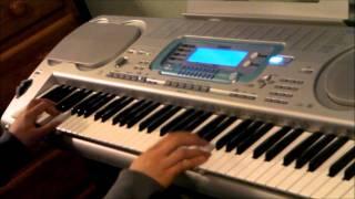 """""""Grenade"""" Bruno Mars (Keyboard Cover) Official Music Video X Factor INSTRUMENTAL + LYRICS"""
