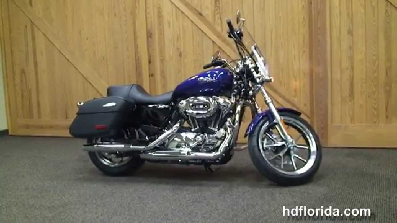 Harley Davidson Motorcycles For Sale >> New 2015 Harley Davidson XL1200T Sportster 1200 Superlow Motorcycles for sale - YouTube