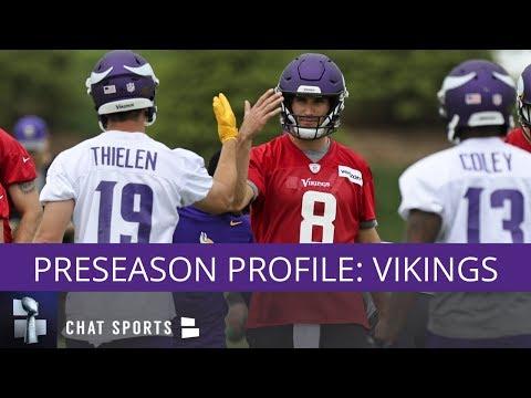 NFL Preseason Profile: Minnesota Vikings - Training Camp, Schedule, & Rumors
