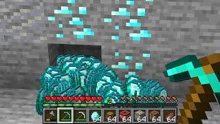Paso Minecraft pero Los Drops se Multiplican Cada Vez que Minas