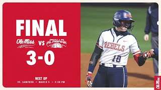 HIGHLIGHTS | Ole Miss defeats North Alabama 3 - 0 - 3/3/21