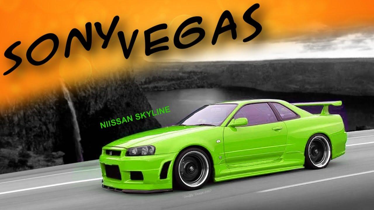 Анимация текста в Sony Vegas. Рекламные идеи. Уроки монтажа Sony Vegas 13