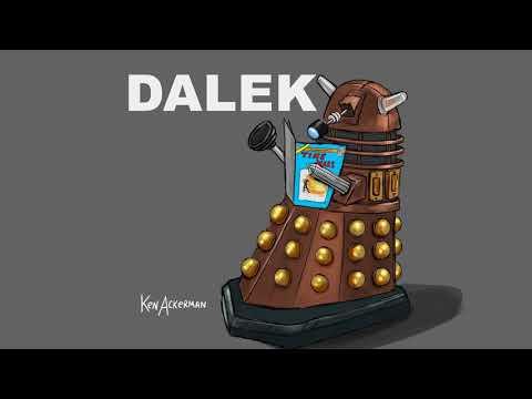 Comic Dalek