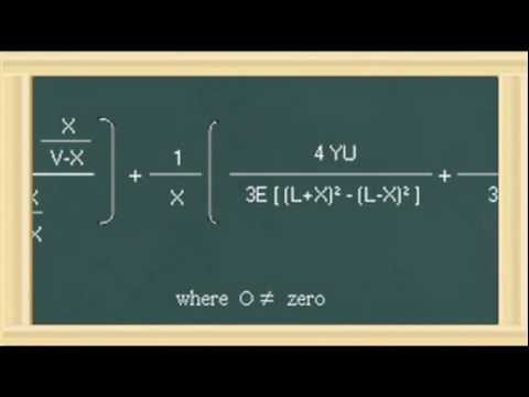 Algebraic Love Equation