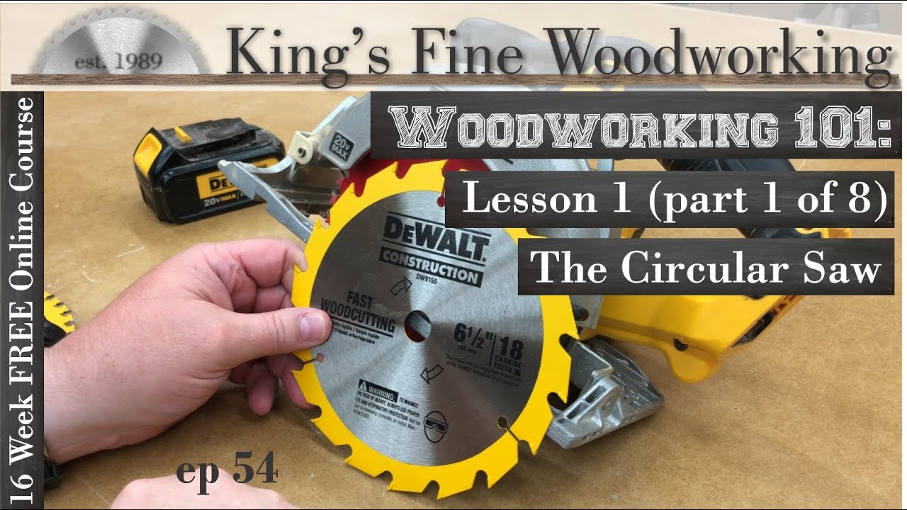 Free Online Woodworking Classes For Beginners