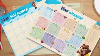 Lino kalendar 2018.
