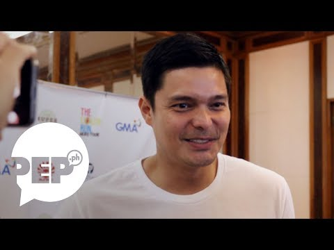 Dingdong Dantes on Cain at Abel being pitted against FPJ's Ang Probinsyano - 동영상