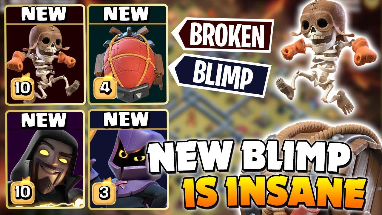 *NEW* Head Hunter & Wall Breaker BATTLE BLIMP is CRAZY