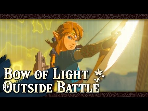 Getting Bow of Light Outside Final Battle - Zelda: Breath of