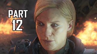 Call of Duty Black Ops 3 Walkthrough Part 12 - Boss Sarah Hall (Let