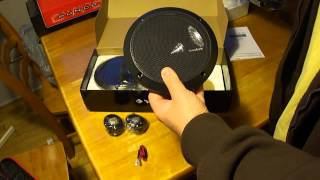 Rockford Fosgate P1675-S 2-way Component Speakers Unboxing